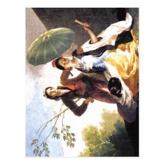 Cartão Postal Parasol Espa de Francisco de Goya? ol: 1776-1778 T