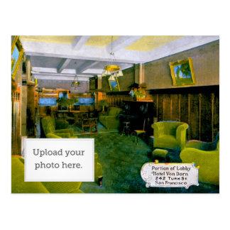 Cartão Postal Parcela de St. San F do turco de Entrada Hotel Von