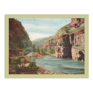 Cartão Postal Paredes de Canon, rio grande (garganta)