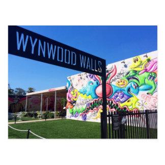 Cartão Postal Paredes de Wynwood, Miami