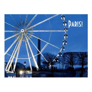 Cartão Postal Paris!