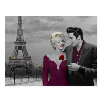 Cartão Postal Paris B&W