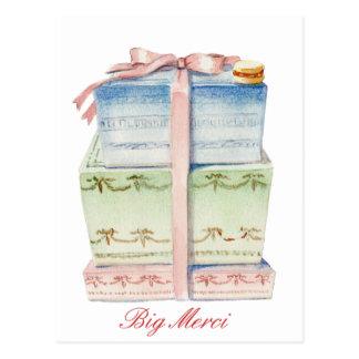 Cartão Postal Paris Cadeaux