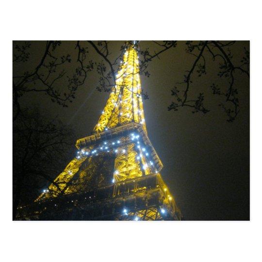 Cartão Postal Paris - Eiffel Tower