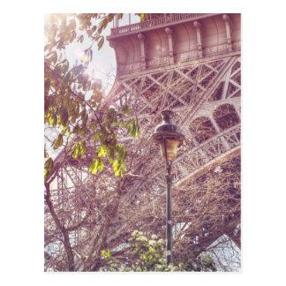 Cartão Postal Paris no primavera