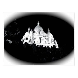 Cartão Postal Paris Sacre Coeur