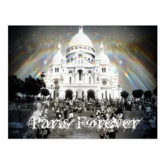 Cartão Postal Paris - Sacré Coeur