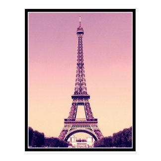 Cartão Postal Paris - torre Eiffel