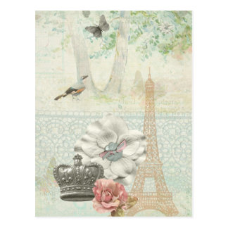 Cartão Postal Paris um impressionismo do la