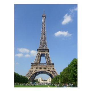 Cartão Postal Paris - Volta Eiffel -
