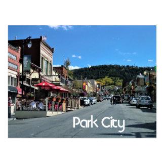 Cartão Postal Park City, Utá