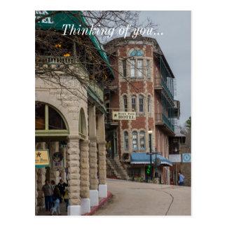 Cartão Postal Parque da bacia e apartamentos de Flatiron