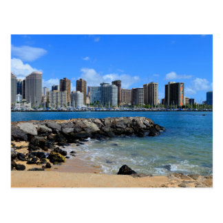 Cartão Postal Parque da praia de Moana de Alá
