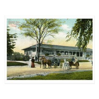 Cartão Postal Parque de Garfield, vintage 1908 de Chicago