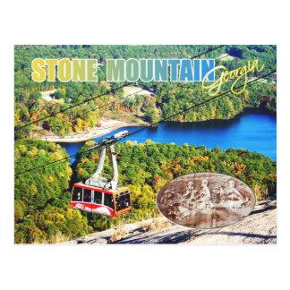 Cartão Postal Parque de pedra da montanha, Geórgia