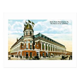 Cartão Postal Parque de Shibe, Philadelphfia, PA