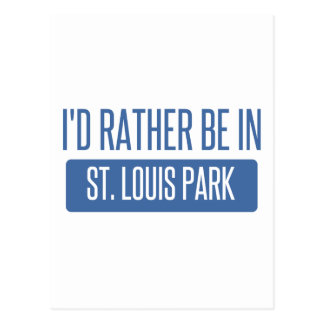 Cartão Postal Parque de St Louis
