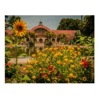 Cartão Postal Parque do balboa do jardim botânico