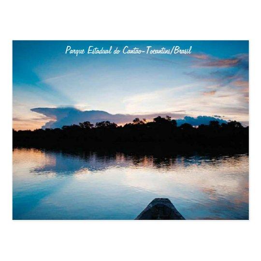 Cartão Postal Parque Estadual do Cantão -Tocantins/Brasil
