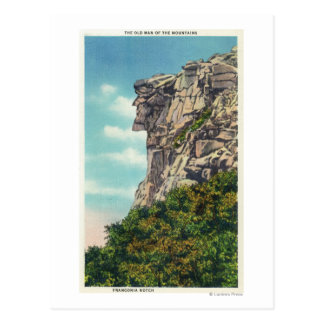 Cartão Postal Parque estadual do entalhe de Franconia