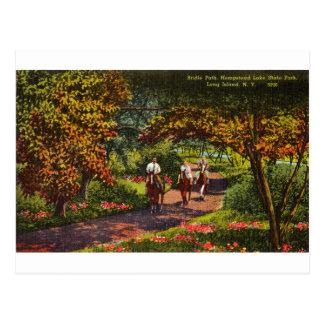Cartão Postal Parque estadual do lago Hempstead