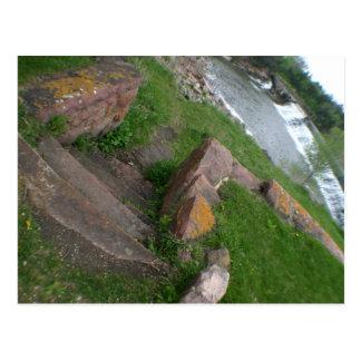 Cartão Postal Parque estadual rachado Garretson de Rock Creek,