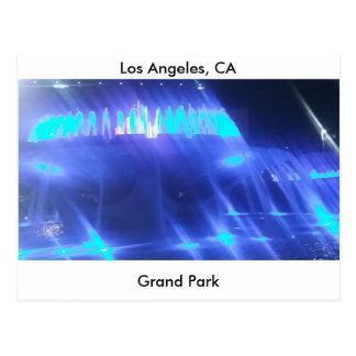 Cartão Postal Parque grande de Los Angeles