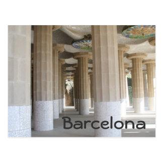 Cartão Postal Parque Güell, Barcelona