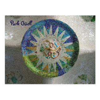 Cartão Postal Parque Güell - personalizado