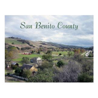 Cartão Postal Parque histórico e recreacional de San Benito