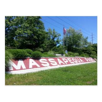 Cartão Postal Parque Long Island de Massapequa
