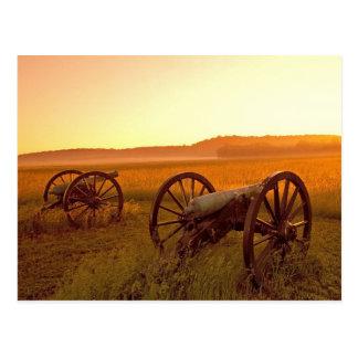 Cartão Postal Parque militar nacional Arkansas de Ridge da