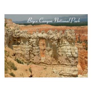 Cartão Postal Parque nacional da garganta de Bryce