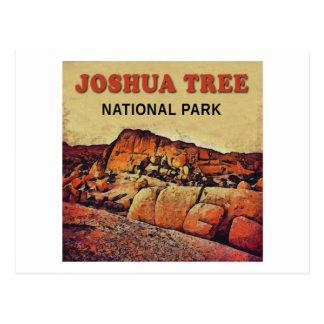 Cartão Postal Parque nacional de ÁRVORE de JOSHUA