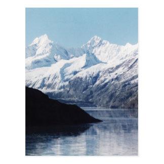 Cartão Postal Parque nacional de baía de geleira