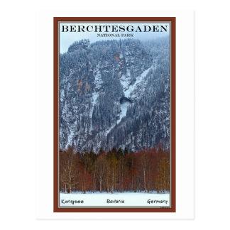 Cartão Postal Parque nacional de Berchtesgaden - inverno