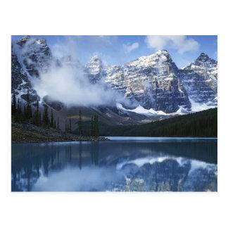 Cartão Postal Parque nacional de Canadá, Alberta, Banff, lago