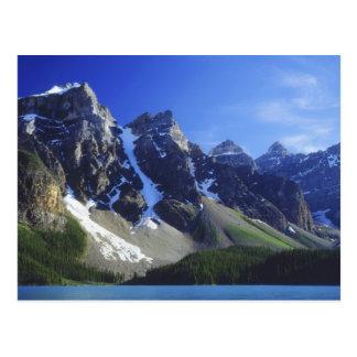 Cartão Postal Parque nacional de Canadá, Alberta, Banff, moraine
