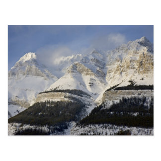 Cartão Postal Parque nacional de Canadá, Alberta, Banff. Vista
