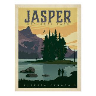 Cartão Postal Parque nacional de jaspe, Alberta Canadá