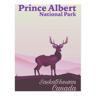 Cartão Postal Parque nacional de príncipe Albert, Saskatchewan,