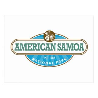 Cartão Postal Parque nacional de Samoa Americanas