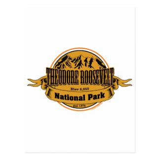 Cartão Postal Parque nacional de Theodore Roosevelt, North
