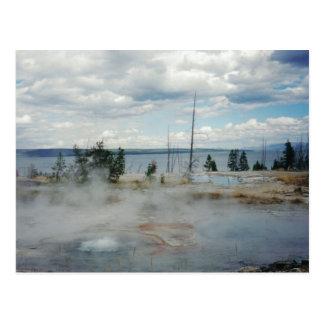 Cartão Postal Parque nacional de Yellowstone