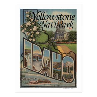 Cartão Postal Parque nacional de Yellowstone, Idaho
