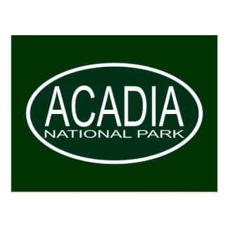 Cartão Postal Parque nacional do Acadia