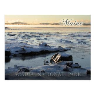 Cartão Postal Parque nacional do Acadia, Maine