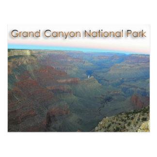 Cartão Postal Parque nacional do Grand Canyon 7/13 de