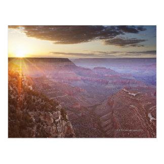 Cartão Postal Parque nacional do Grand Canyon na arizona