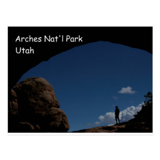 Cartão Postal Parque nacional dos arcos, UT